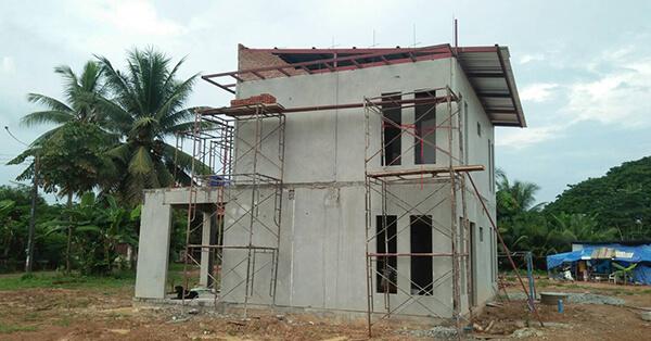 เริ่มต้นสร้างบ้าน