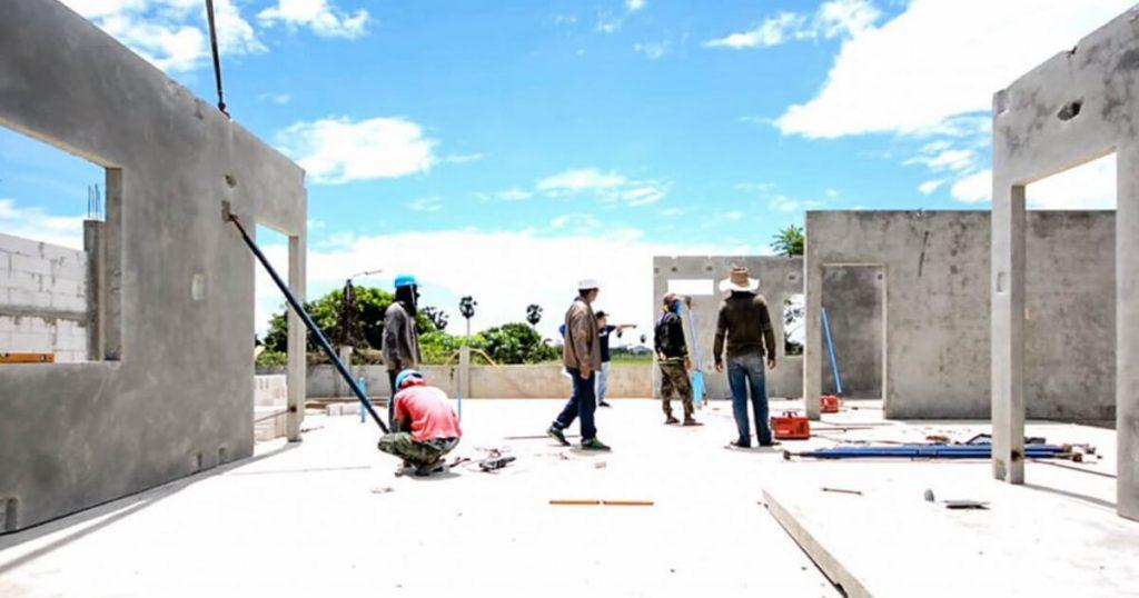 การก่อสร้างบ้านสำเร็จรูป